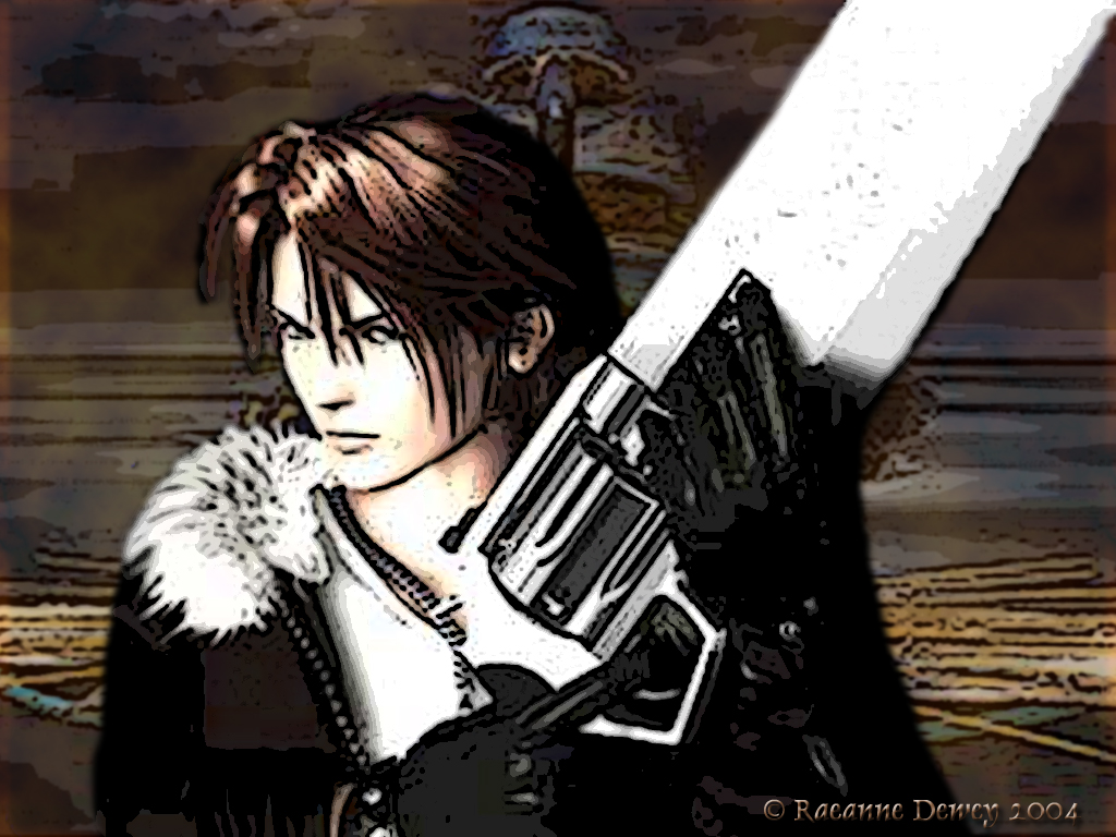 gallery for final fantasy 8 squall wallpaper
